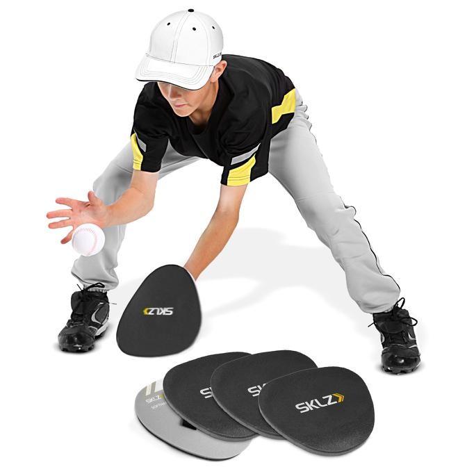 Sklz Soft Hand 4 Pack Foam Fielding Trainer Training