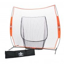 Bownet 7' x 7' Big Mouth Baseball/ Softball Practice Hitting Net