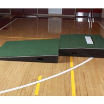 ProMounds Professional 2-Piece Pitching Mound with Green Turf