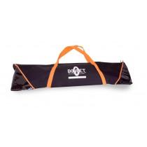 Orange and Black Zipped Bag